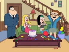 American Dad! 04x01 : 1600 Candles- Seriesaddict