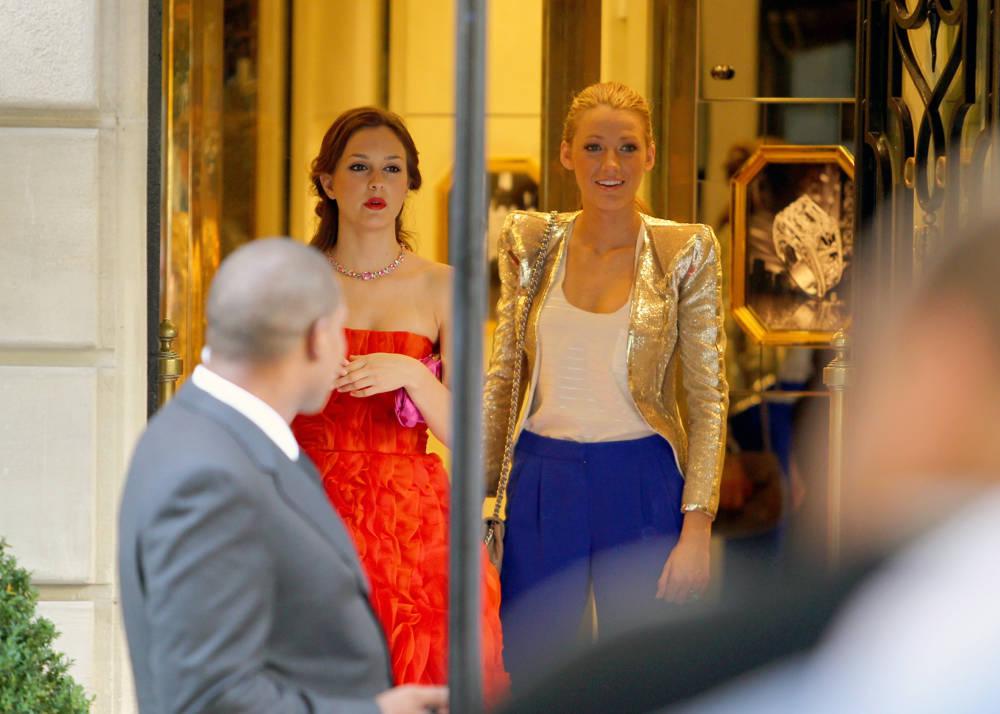 ... Gossip Girl Tournage Saison  4 Paris · Serena et Blair ... 0da337a959a
