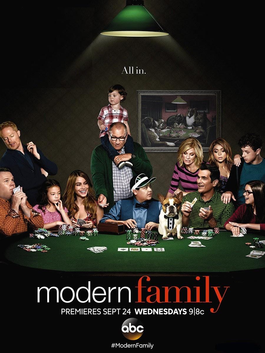 photo modern family posters saison 6 series addict