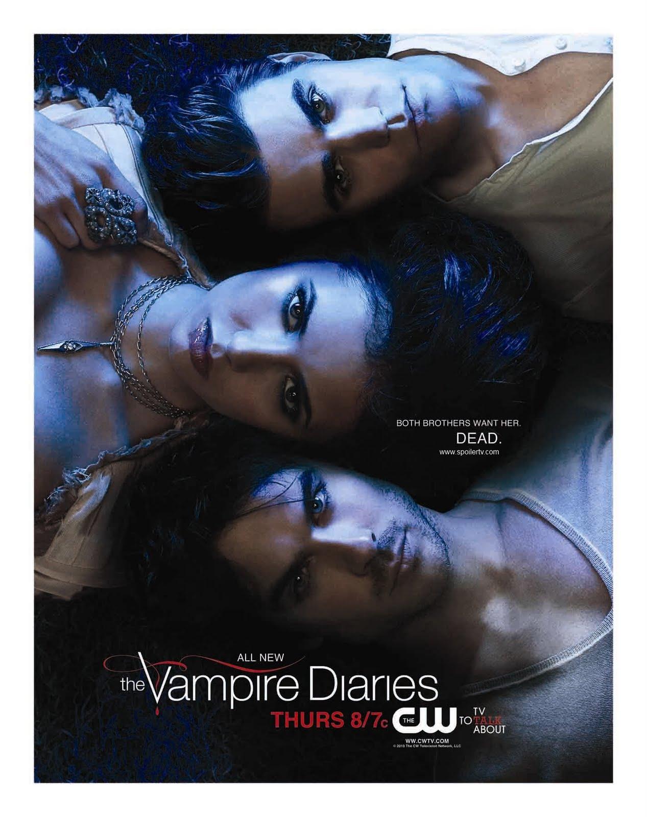Stefan Katherine et Damon Poster Sweep