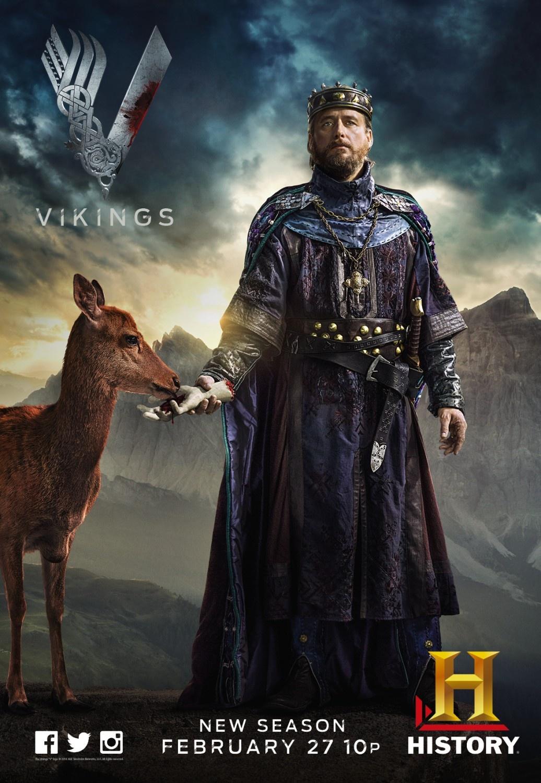 photo vikings posters saison 2 series addict. Black Bedroom Furniture Sets. Home Design Ideas