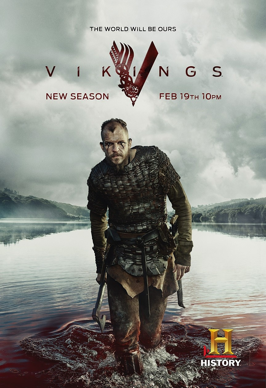 Préférence Photo Vikings Posters saison 3 - Series Addict EW54