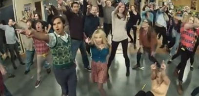 The Big Bang Theory : la flash mob
