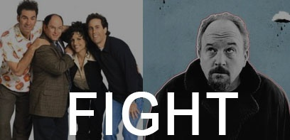 Battle SeriesAddict - Comédie : Seinfeld VS Louie