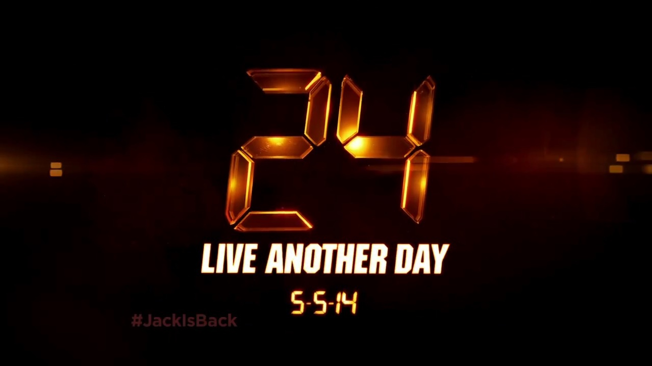 24 Live Another Day - Promo 9x10  ''8 00 PM 9 00 PM''