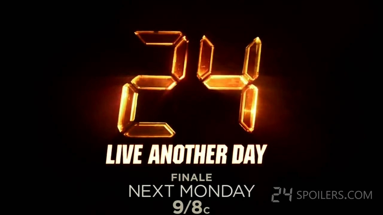 24 Live Another Day - Promo 9x12