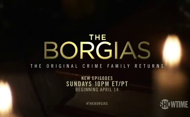 The Borgias - Trailer saison 3 - The New Pope